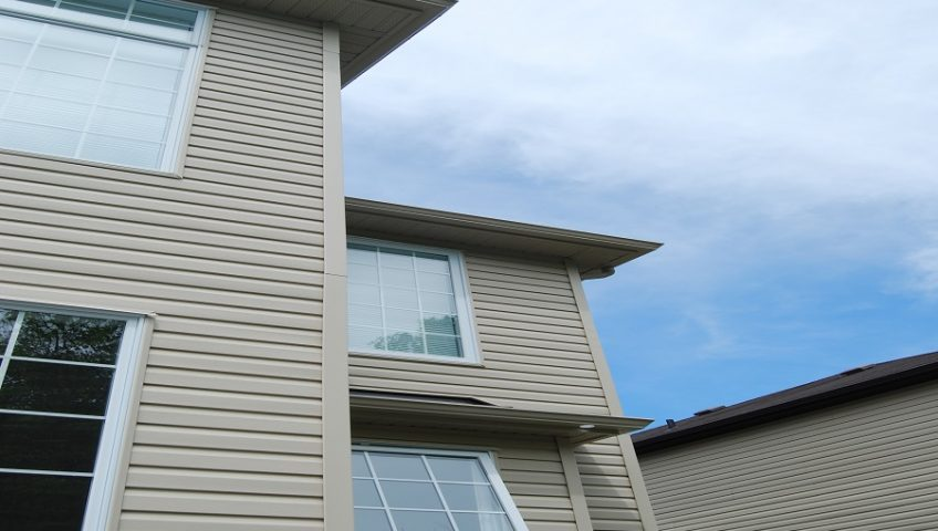 How To Install Downpipes Hinges On Your Calgary Eavestroughs Alpine Eavestrough